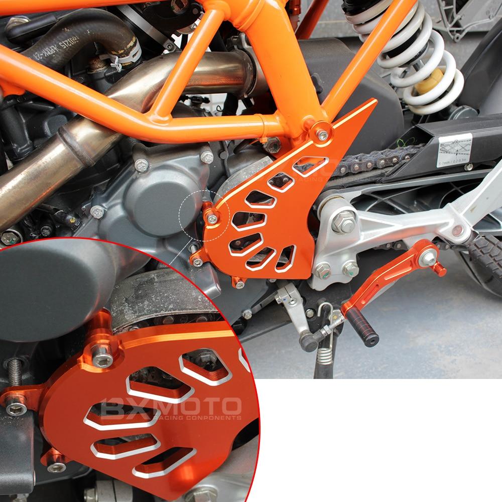 Mode motorrad CNC Aluminium Billet Kettenblatt Abdeckung Motor - Motorradzubehör und Teile - Foto 6