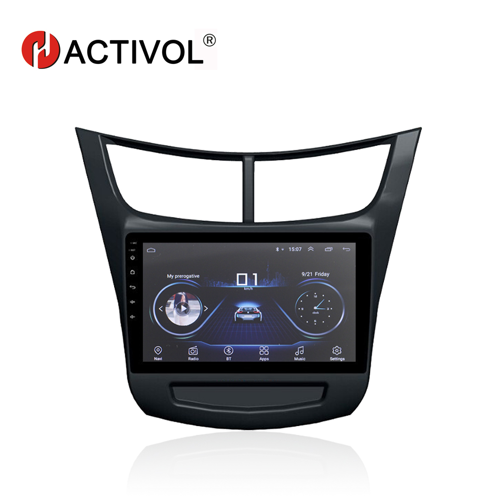 HACTIVOL 9 Quadcore Car radio for Chevrolet Sail 3 2015 android 8.1 car DVD player with 1G RAM 16G ROM