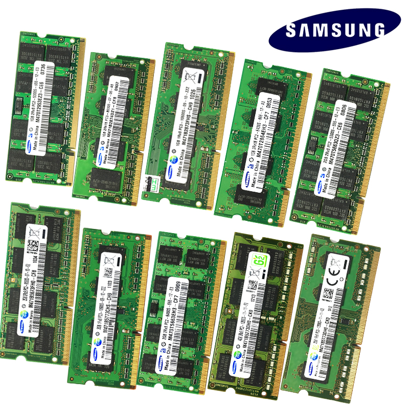 1GB 2GB 4GB 8GB 2G 4G PC2 PC3 PC3L DDR2 DDR3 667Mhz 800Mhz 1333hz 1600Mhz 5300 6400S 8500 10600 ECC Laptop memory notebook RAM 2