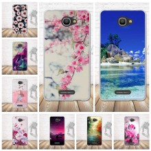 "Fundas caso para alcatel pop 4S 5.5 ""ot5095 caso silicone macio tpu volta capa para alcatel um toque pop 4S 5.5 cover cover 5095 capa coque(China)"