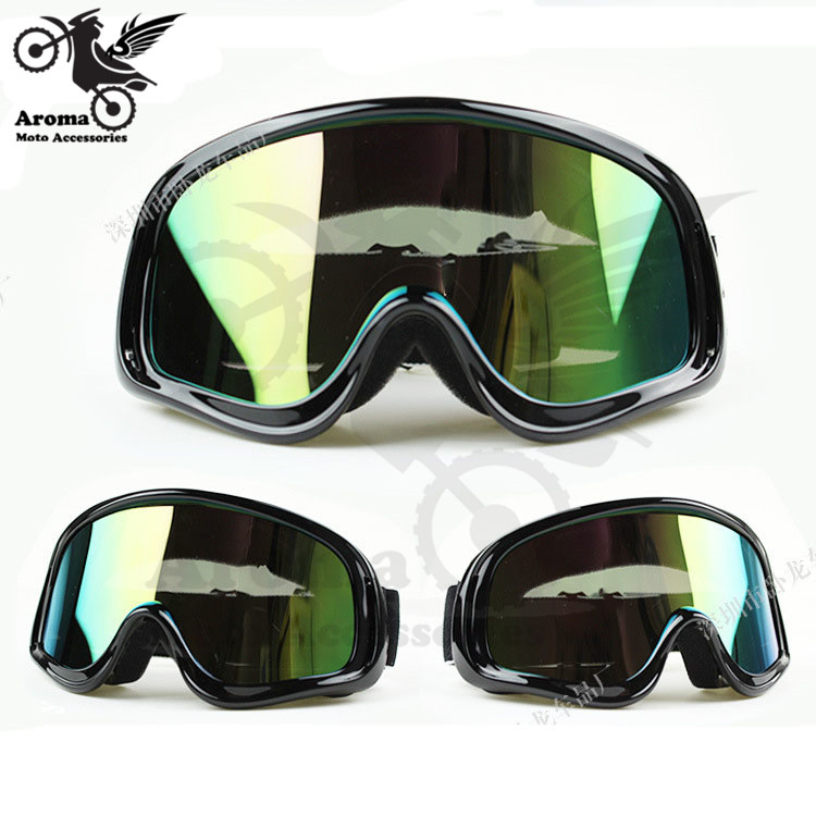 Active Colorful Clear Lens Motorbike Eye Protection Universal Moto Dirt Pit Bike Off-road Racing Motorcycle Glasses Motocross Goggle