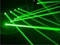 Профессиональный X15 G640 8 шт. зеленый G532 80mW изделие мини диско лазерного паук для сцены и вечеринок Club КТВ свадебные Studio освещения DMX 512