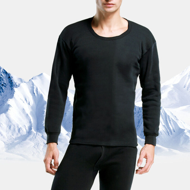 New High Quality Men Thermal Underwear Set 2016 Winter Warm Hot-Dry Technology Surface Elastic plus velvet thickening
