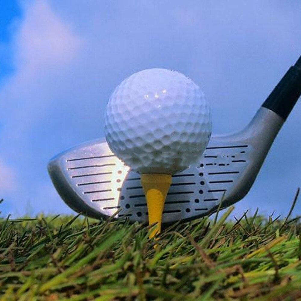 1pc Golf Ball Wood Wooden Tee Straight Wood Long TEE 83mm Long New Drop shipping