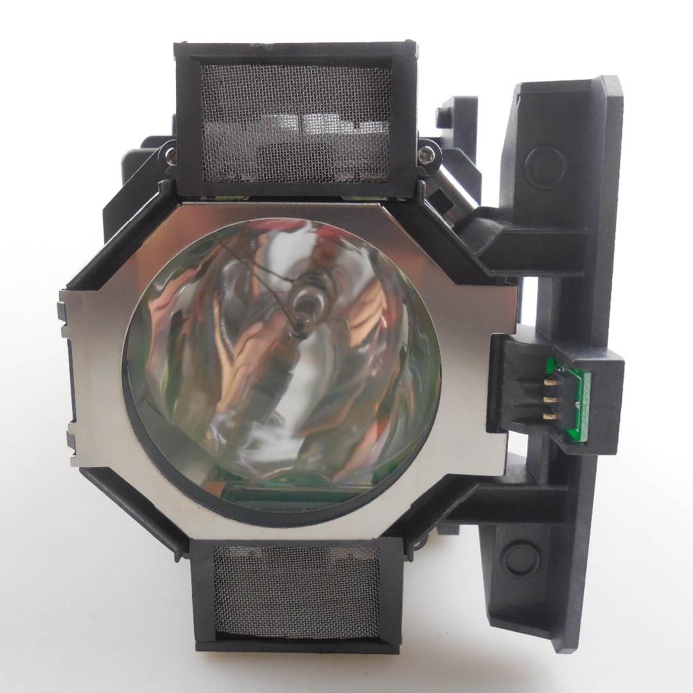 Original Projector Lamp ELPLP73 for EPSON EB-Z8350W / EB-Z8355W / EB-Z8450WU / EB-Z8455WU / PowerLite Pro Z8150NL / ProZ8250NL elplp73 projector lamp for eb 8150nl eb z10000 eb z1000nl eb z10005 eb z1000rnl z8150 z8250wnl z8350w with housing happybate