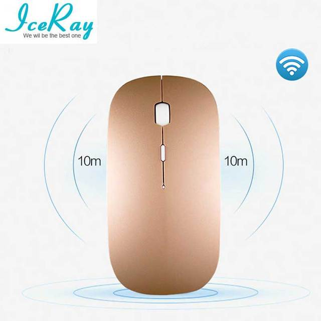 05d6356dfa3 IceRay Rechargeable Wireless Bluetooth Mouse For Computer PC Laptop ...