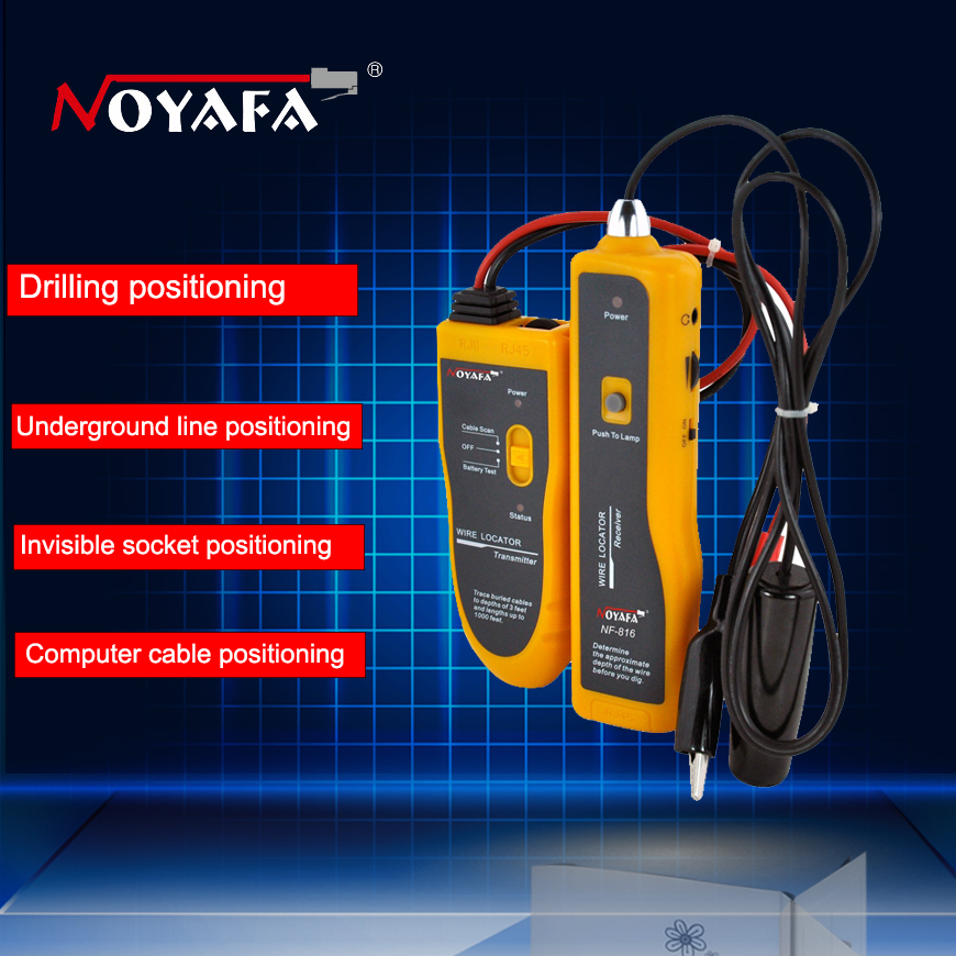 Underground Cable Fault Finder : Free shipping nf underground cable locator