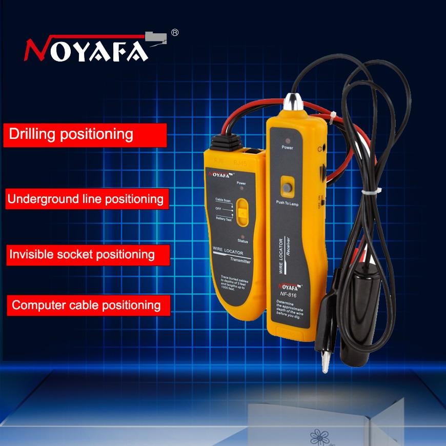 Free Shipping NF816 Underground Cable Locator ,Cable Finder Fault Finder Network Cable Finder Tools Underground Wire Locator