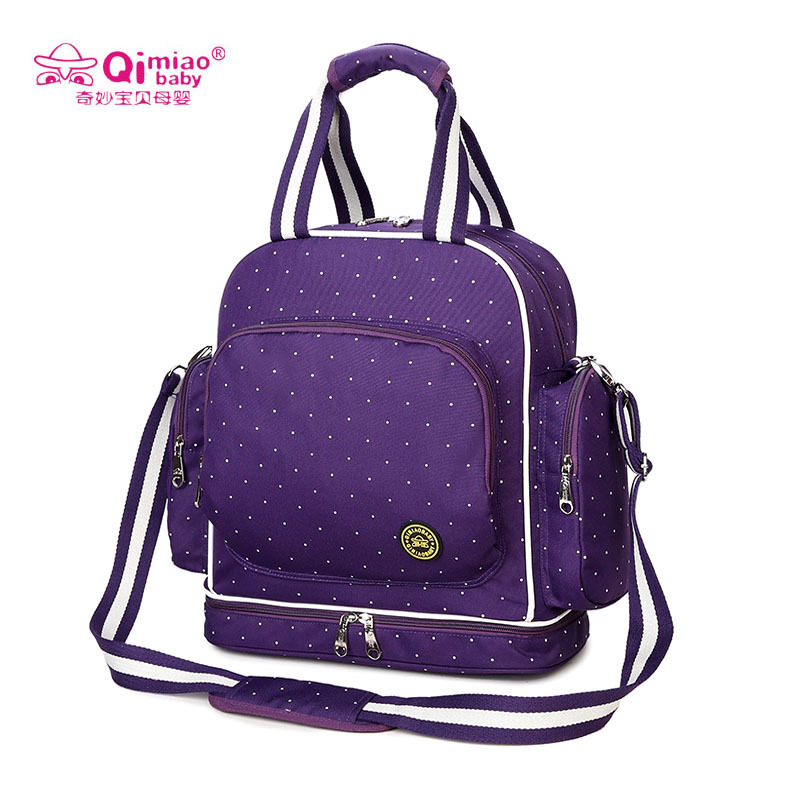Diaper Bag For Mom Nappy Mother Maternity Bags Messenger Baby Care Handbag And Backpack Dual Use Waterproof Bag For Stroller baby dining lunch feeding booster seat maternity baby diaper nappy bag multifunction fashion hobos messenger bags for baby care