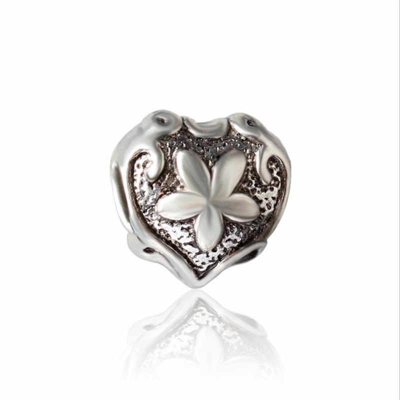 NEW Vintage Hạt DIY Jewelry Charms Hạt Fit Pandoraa Bracelet & Dây Chuyền Mặt Dây Chuyền Đích Thực Hạt Trang Sức Làm Phụ Nữ Quà Tặng