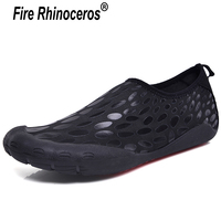 Summer Sneaker Aqua water shoes sports slippers swimming socks Men's beach swim mesh diving barefoot gym shoes men