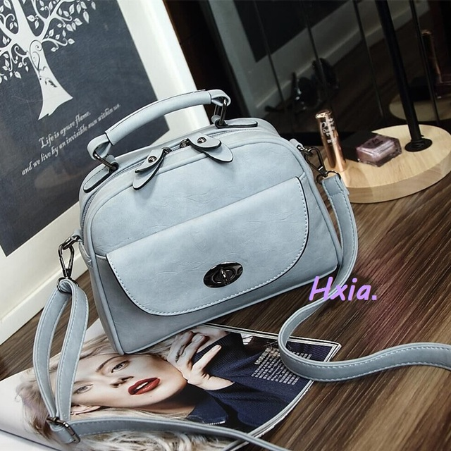 Free shipping, 2016 new women handbags, simple shell flap, fashion scrub shoulder bag, Korean version woman messenger bag.