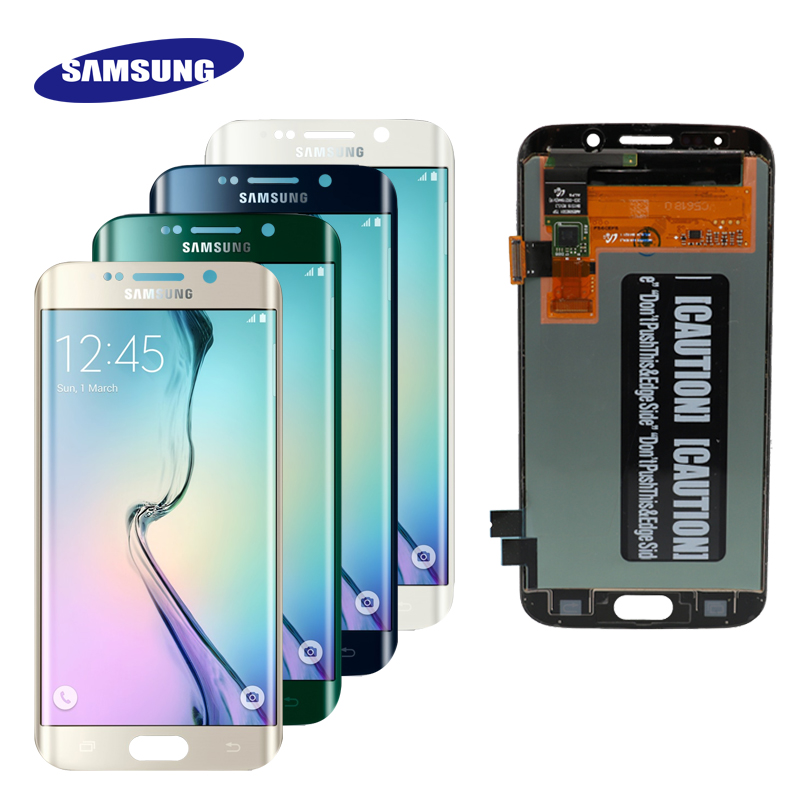 HTB17IGnQMHqK1RjSZFEq6AGMXXal 5.1''ORIGINAL SUPER AMOLED  LCD with Frame for SAMSUNG Galaxy s6 edge Display G925 G925I G925F Touch Screen Digitizer