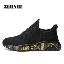 ZIMNIE Limited Edition Men Running Shoes High Quality Sport Gym Training Sneakers Breathable Anti-skid Outsole Walking Shoes(China)