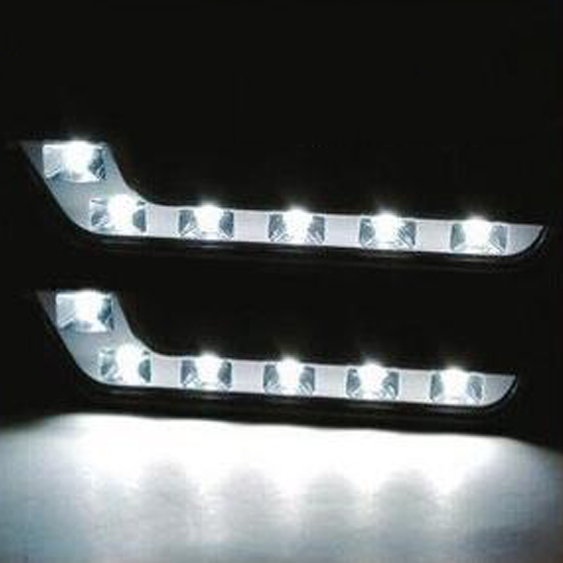 Tonewan 6 Е4 удара светодиодные фары дневного света день Ксеноновые лампы Противотуманные фары вождения парковка Источник света набор DRL W124 с w204 Мерседес