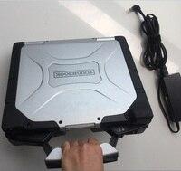 Вторая рука ноутбук Toughbook cf30 CF 30 ОЗУ 4g авто диагностический компьютер 2 года гарантии выберите hdd для МБ c3 c4 c5 bmw icom
