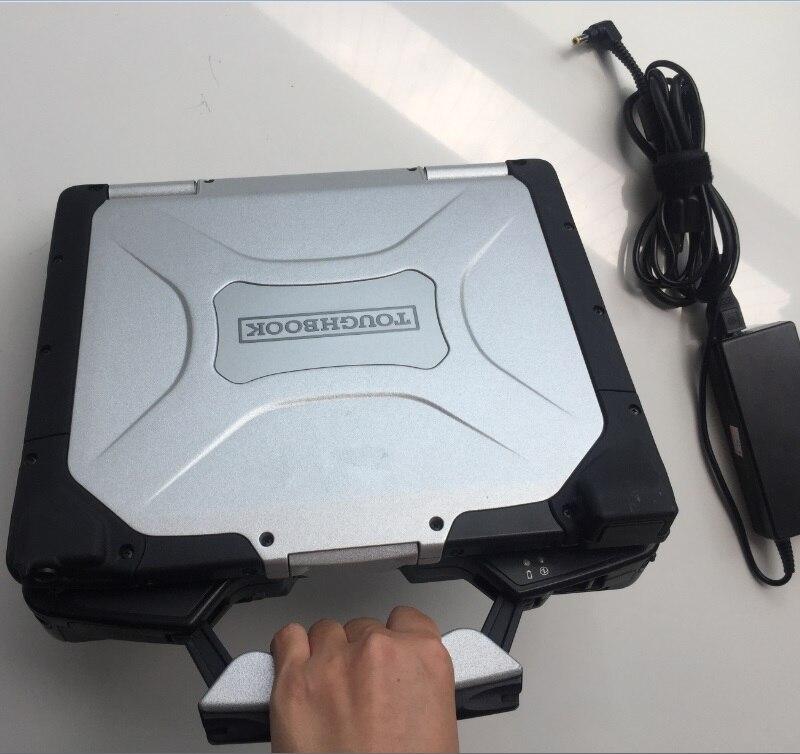 Segunda mão laptop toughbook cf-30 cf30 ram 4g auto diagnóstico computador 2 anos de garantia escolher hdd para mb c3 c4 c5 bmw icom