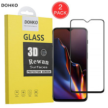 2 Pack Original DOHKO Screen Protector For OnePlus 6T OnePlus6T One Plus 6T 1 6T 6
