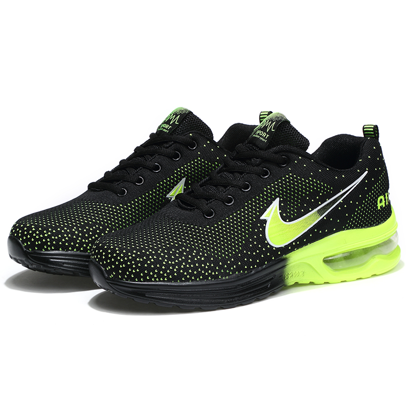 New breathable Fly line men sports shoes High-quality air-cushion outdoor running shoes AthleticTraining Men