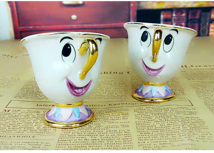 Oude stijl Hot koop Een Stuk Schoonheid en het Beest Mrs Potts' zoon, Chip Alleen Mok Thee Koffie voor vriend Gift