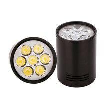 Led downlight luz da lâmpada do teto 3w 5 7 de alta potência epstar chips quente natureza puro branco AC85 265V superfície montado