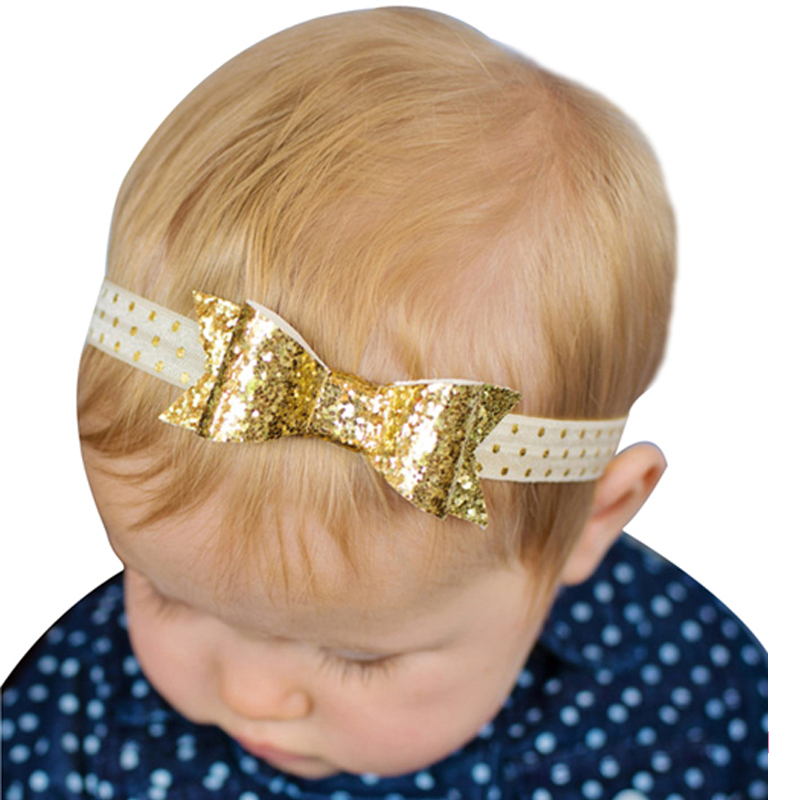 1pc Newborn Flower Headband Kids Hair Bow Hair Bands Hair Accessories Sequin Bands Accessories Photographic w-200 newborn photography props child headband baby hair accessory baby hair accessory female child hair bands infant accessories