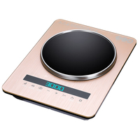 DMWD 2018 Newest Flat/Concave 2 In 1 Induction Cooker Intelligent Touch Control Kitchen Induction Stove Electric Hot Plate