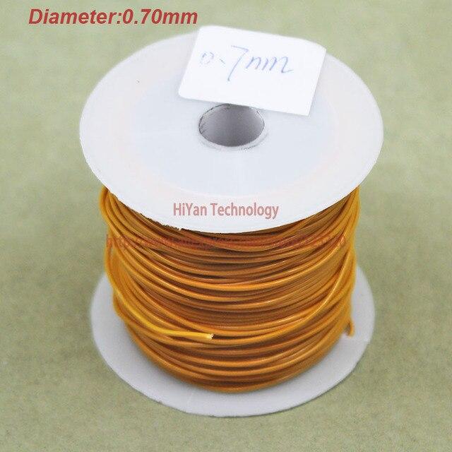 20meters/lot) Triple Insulated Copper Wire Bare Copper Diameter 0.7 ...