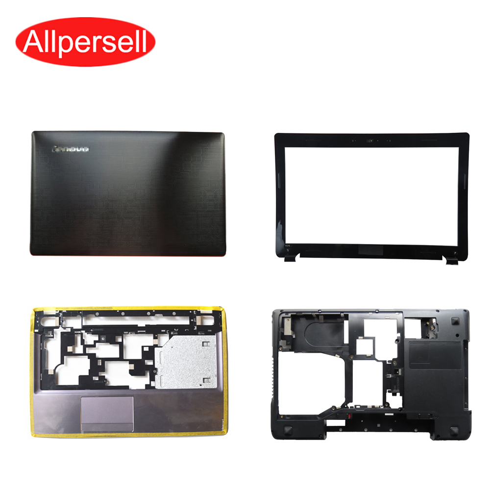 Laptop case For Lenovo Y570 Y570N Y575 Top cover/palmrest case/bottom shell/Hard Drive Cover/ Screen frame brand new