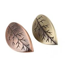Door Knobs Leaf Dresser Knob Drawer Handles Antique Bronze / Copper Kitchen Cabinet Knob Handle Decorative Hardware стоимость