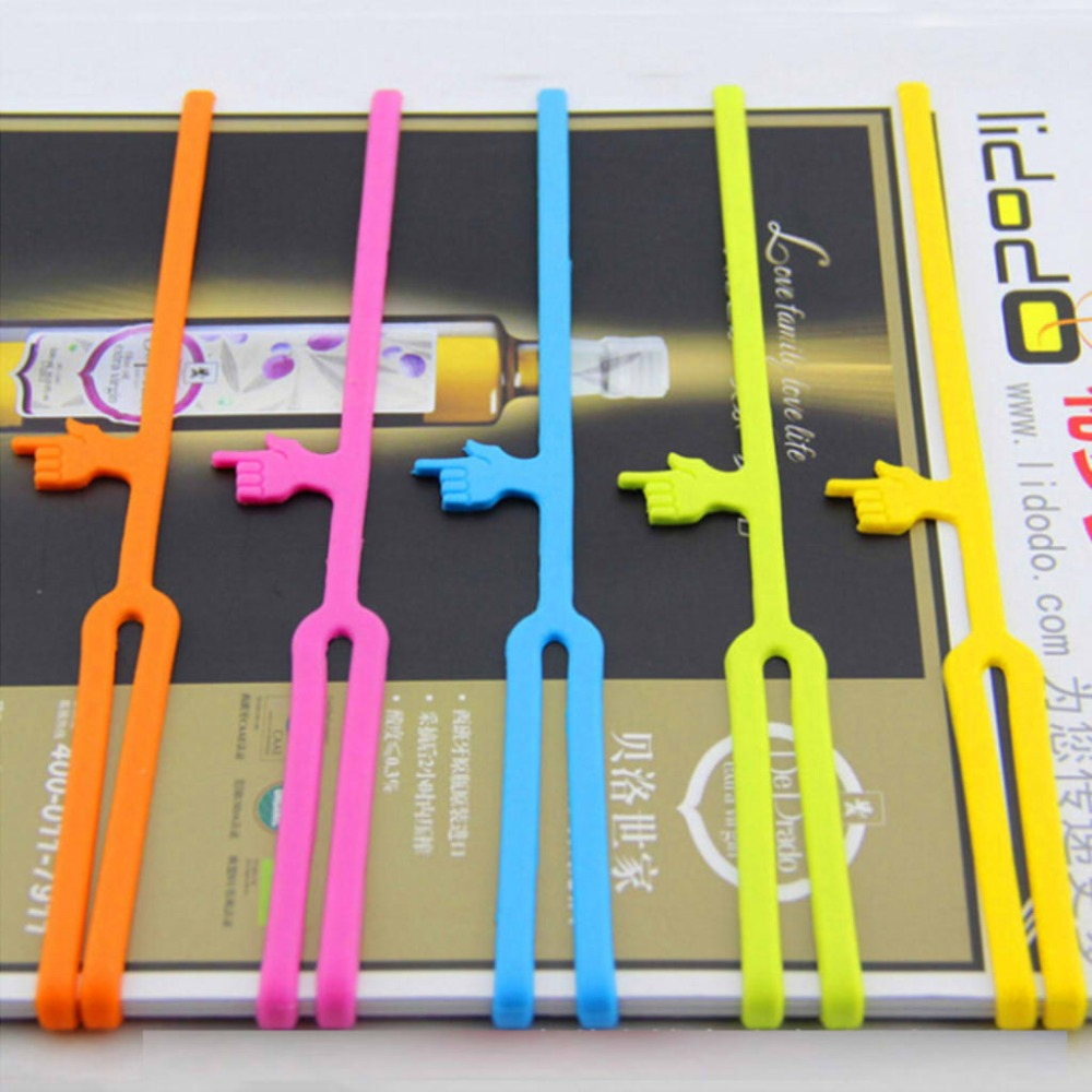 10Pcs New Cute Silicone Finger Pointing Bookmark Book Mark Office Supply Funny Gift Drop Shipping10Pcs New Cute Silicone Finger Pointing Bookmark Book Mark Office Supply Funny Gift Drop Shipping