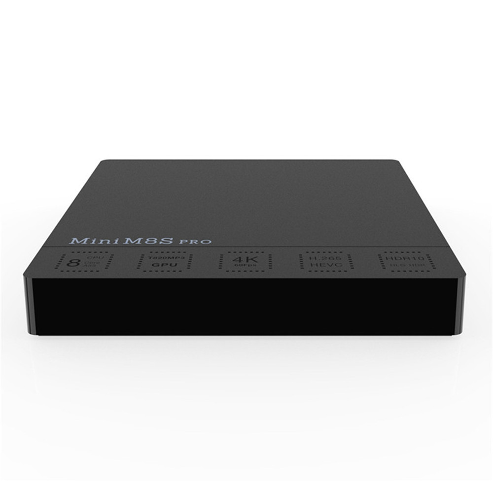 M8SPro-c set-top box S912 eight core 2+16G dual-band Wifi Android 7.1 system network player smart TV Android box цена и фото