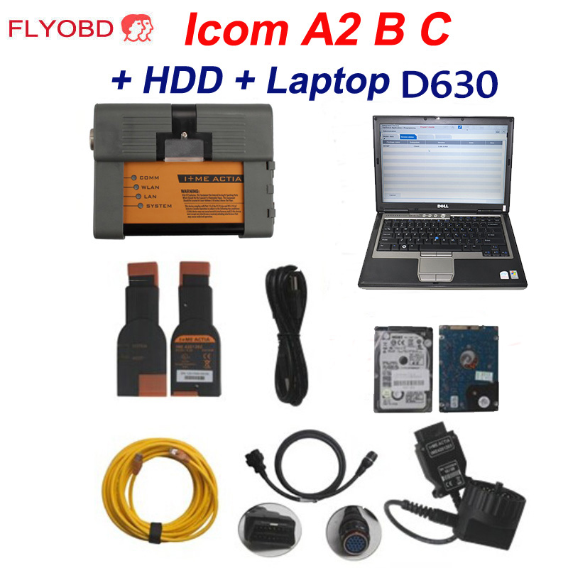 2019 New! Wifi ICOM P for BMW Diagnostic & Programming Tool