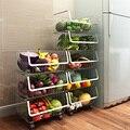 Полка для хранения  корзина для овощей  Многоуровневая кухонная полка из нержавеющей стали 304 WF4021721