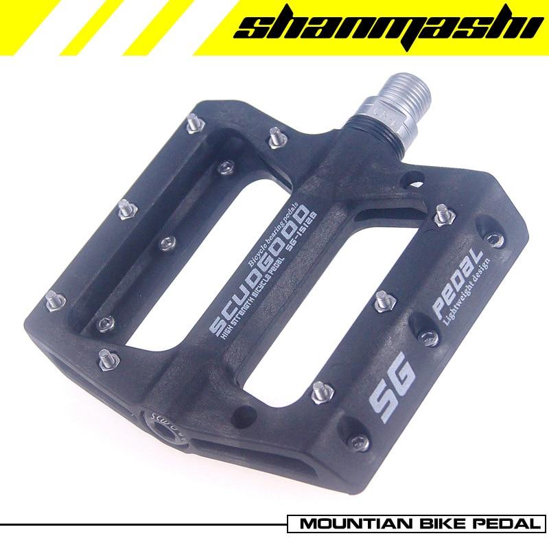 SCUDGOOD Aluminum MTB Mountain Road Bike 3 Bearings Pedals Platform Pedal 1 pair