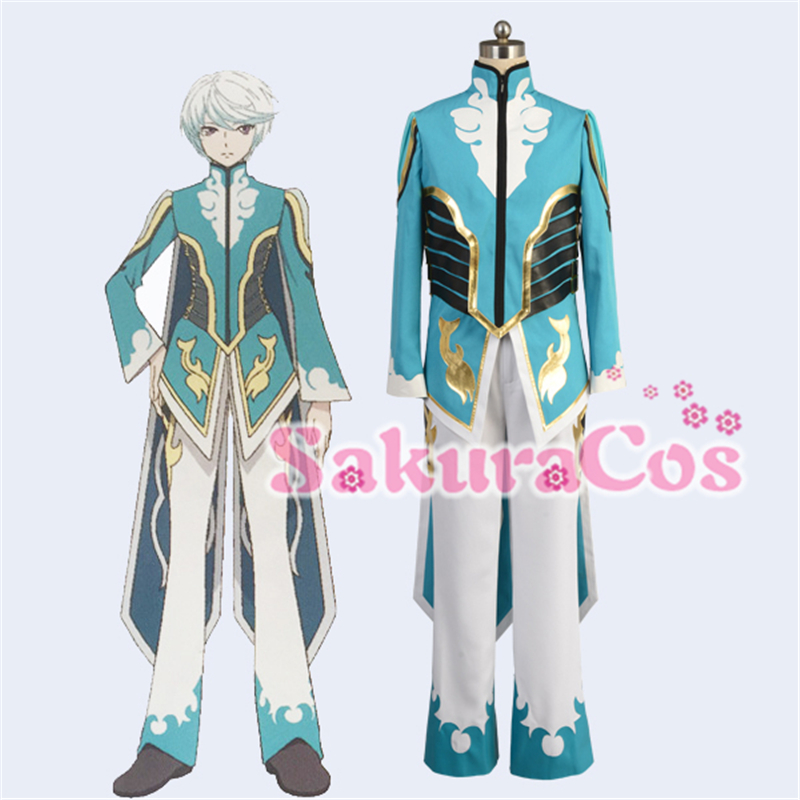 2017 Christmas Cosplay The X Tales of Zestiria Mikleo Cosplay Costume Clothing For Men and Women Coat+Pants image