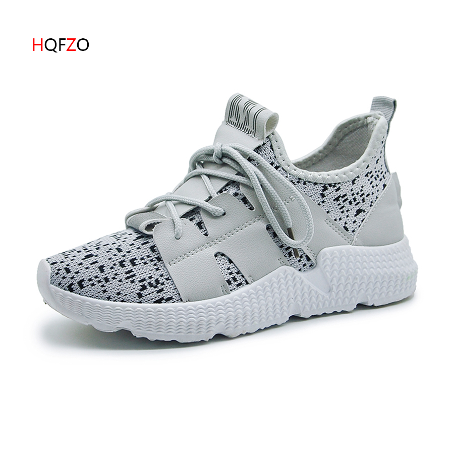 New Air Mesh PU Platform Sneakers Grils Wedges Canvas Breathable Casual Shoes Women Vulcanize Shoes Feminino Zapatillas Mujer
