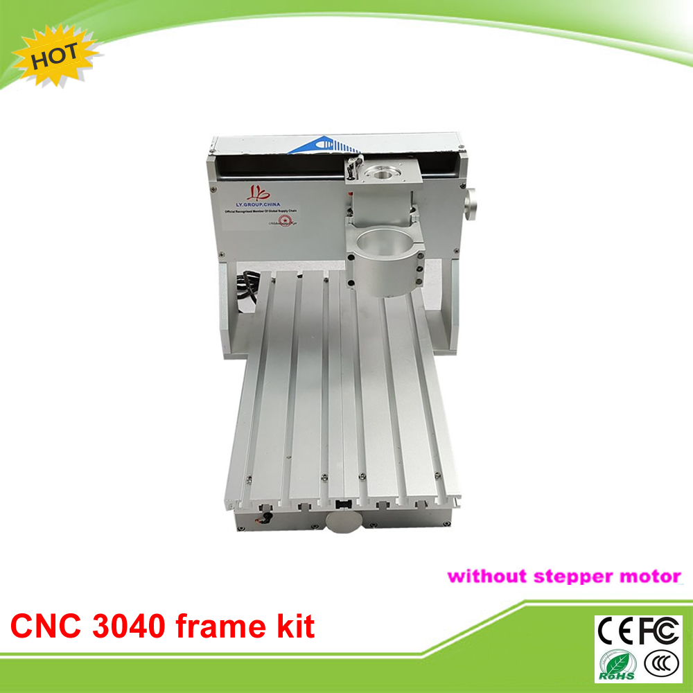high quality 3040 CNC frame kit assembled limit switch CNC 3040 frame free tax to EU high quality me 8166 spring stick rod enclosed limit switch