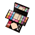 Fashion 18 Colors Pro Eyeshadow Palette Makeup Powder Cosmetic Brush Kit Box With Mirror Women Make Up Tools Set Eye Shadow