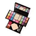 Moda 18 Colores de Sombra de Ojos Pro Paleta de Maquillaje En Polvo Cepillo Cosmético caja con mirror mujeres maquillaje herramientas kit set ojo sombra
