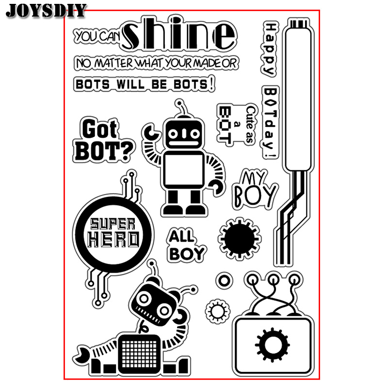YOU CAN SHINE GOT BOT ALL BOY  Scrapbook DIY  photo cards account rubber stamp clear stamp transparent stamp Handmade card stamp you can shine got bot all boy scrapbook diy photo cards account rubber stamp clear stamp transparent stamp handmade card stamp