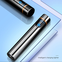 Mini Lighter Touch Screen Electric Cigarette Lighters USB Re