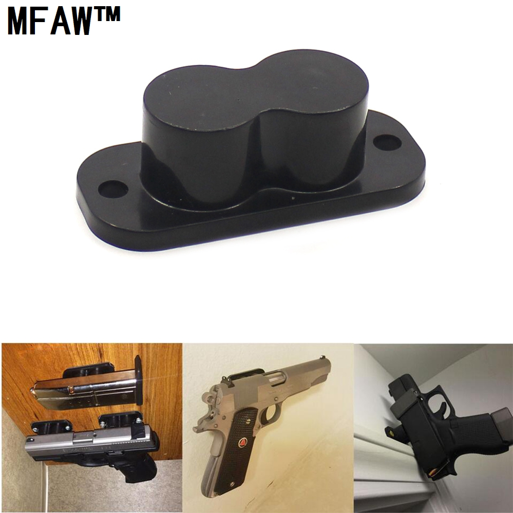 Concealed Magnetic Gun Holder Holster Gun Magnet 25LB Rating For Car Under Table Bedside