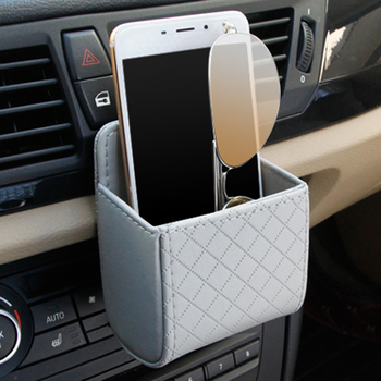 Car Storage Bag Organizer Glasses Phone Holder Pocket For Ford Focus 2 1 Fiesta Mondeo 4 3 Transit Kuga Ranger Mustang KA S-max image