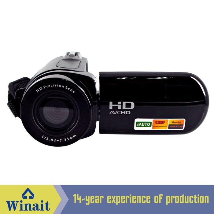 "Freeshipping cheap digital video camera HD-E5 12mp 8X digital zoom 2.4"" LCD display photo+video digital camcorder"