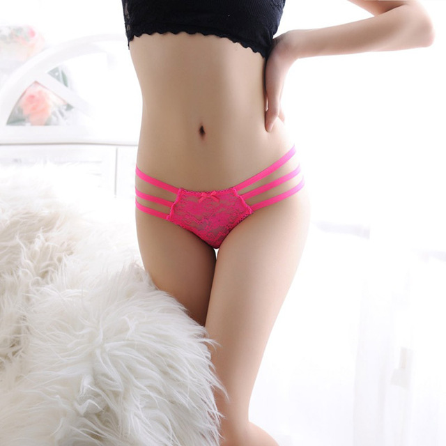 Women Panties Gstring Pack and Lace Thongs