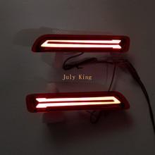 July King светодиодный светильник направляющий тормозной светильник s+ Ночной светильник для вождения s Чехол для Suzuki Baleno III Vitara Brezza+, новое обновление