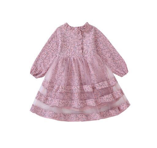 Girls dresses 2019 autumn kids girls long sleeve princess dress for birthday party wear children clothing winter teenager dress 3