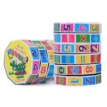 2 шт./лот цифровой Куб детские игрушки дополнение вычитание Математика раннее образование интеллектуальные игрушки креативный куб