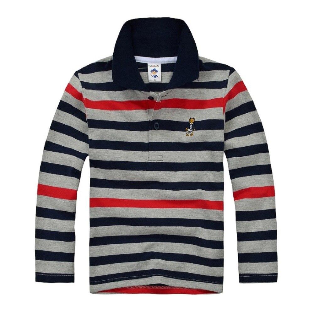 Camisetas de polo para niños de alta calidad para uniforme escolar camiseta para  niños de manga larga de algodón para 7 8 9 10 11 12 13 14 años en Camisetas  ... b833e35ef1479
